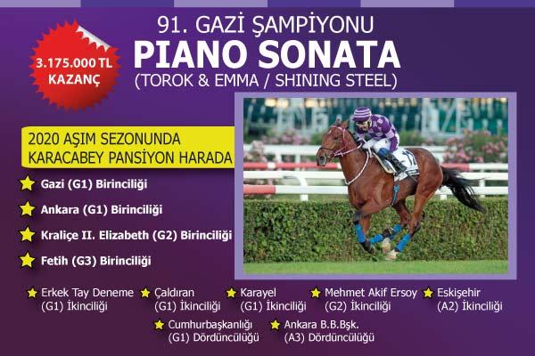 91. GAZİ ŞAMPİYONU PIANO SONATA
